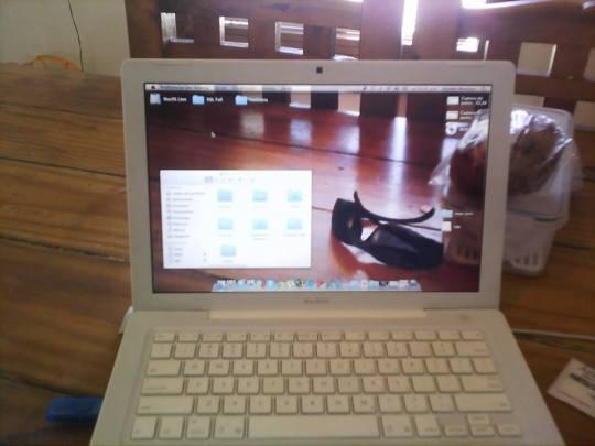 Mac pantalla trasparente